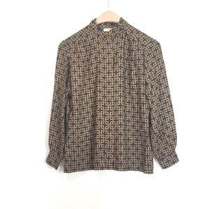 Pendleton Sophisticates Long Sleeve Blouse 12